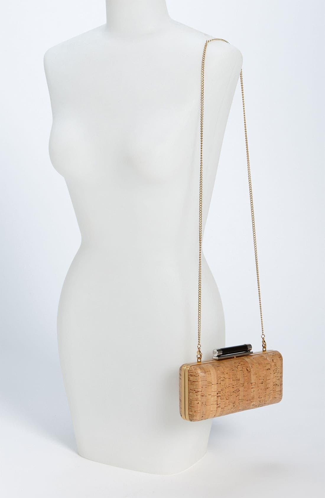 Alternate Image 2  - Diane von Furstenberg 'Tonda' Cork Clutch