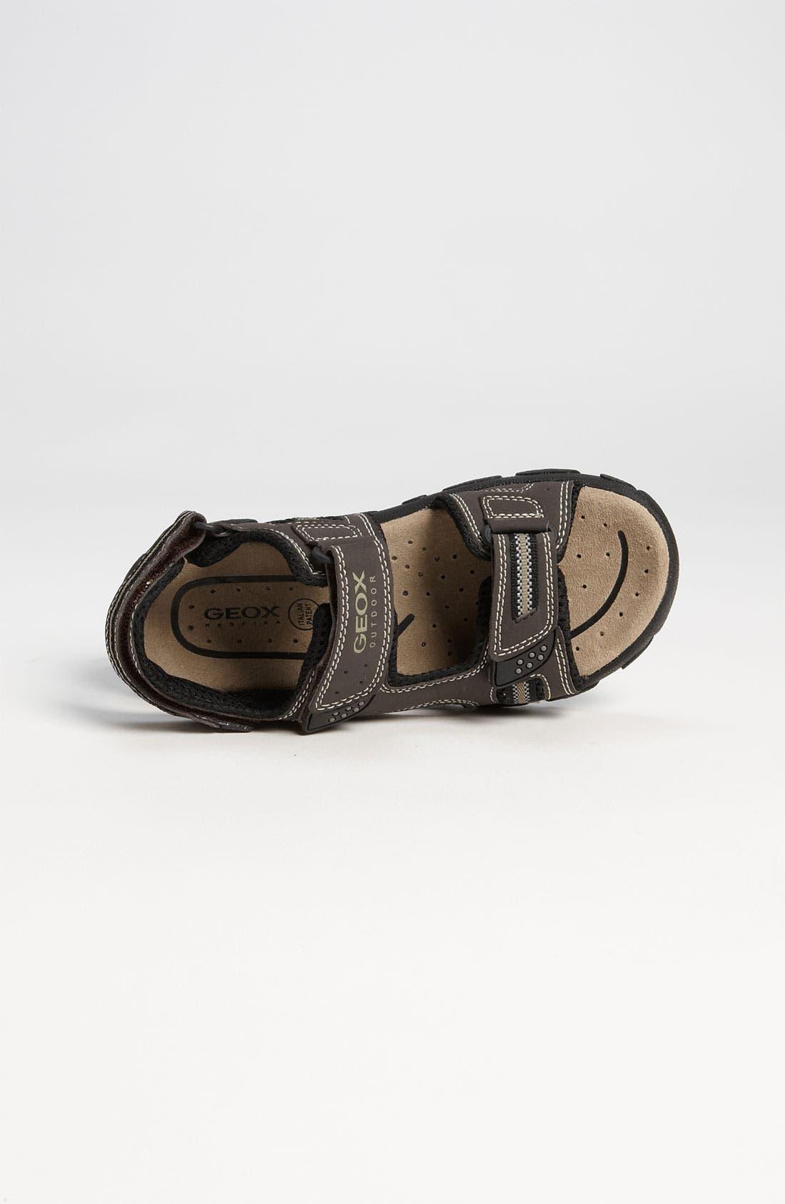 Alternate Image 3  - Geox 'Strada' Sandal (Toddler, Little Kid & Big Kid)