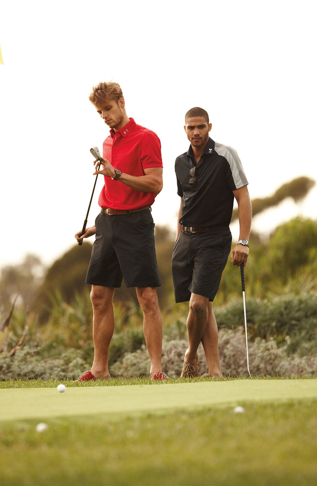 Alternate Image 2  - Under Armour 'Bent Grass' HeatGear® Golf Shorts