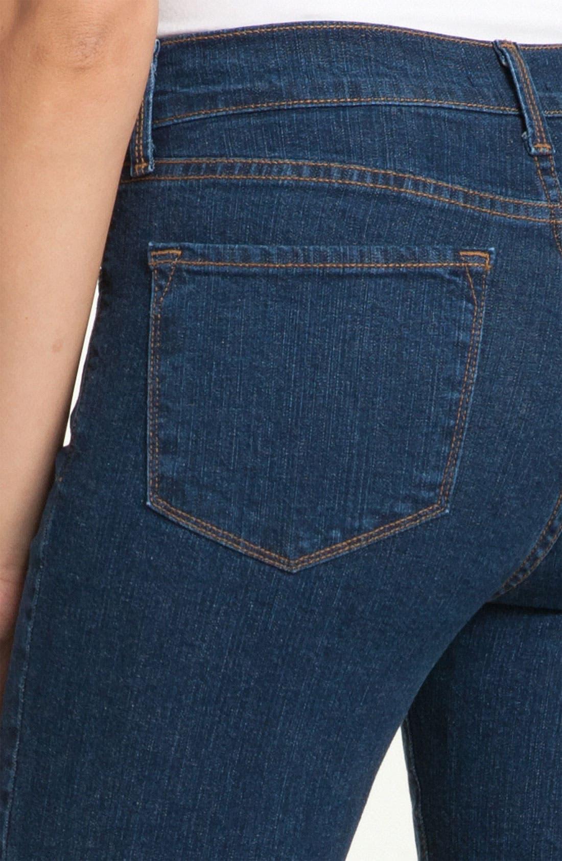 Alternate Image 3  - NYDJ 'Marilyn' Stretch Straight Leg Jeans (Denim) (Regular & Petite)