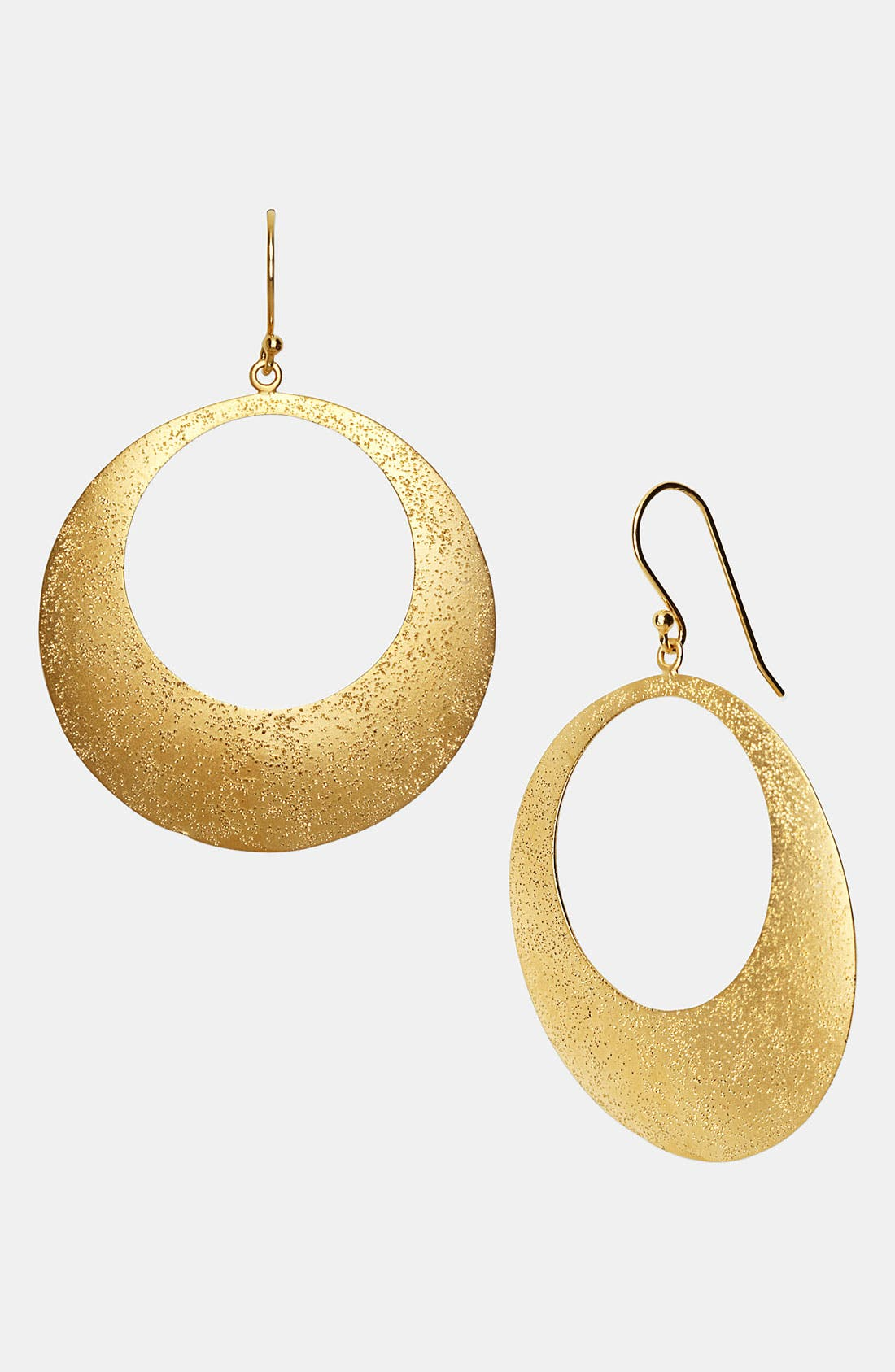 Alternate Image 1 Selected - Argento Vivo 'Galaxy' Open Disc Earrings