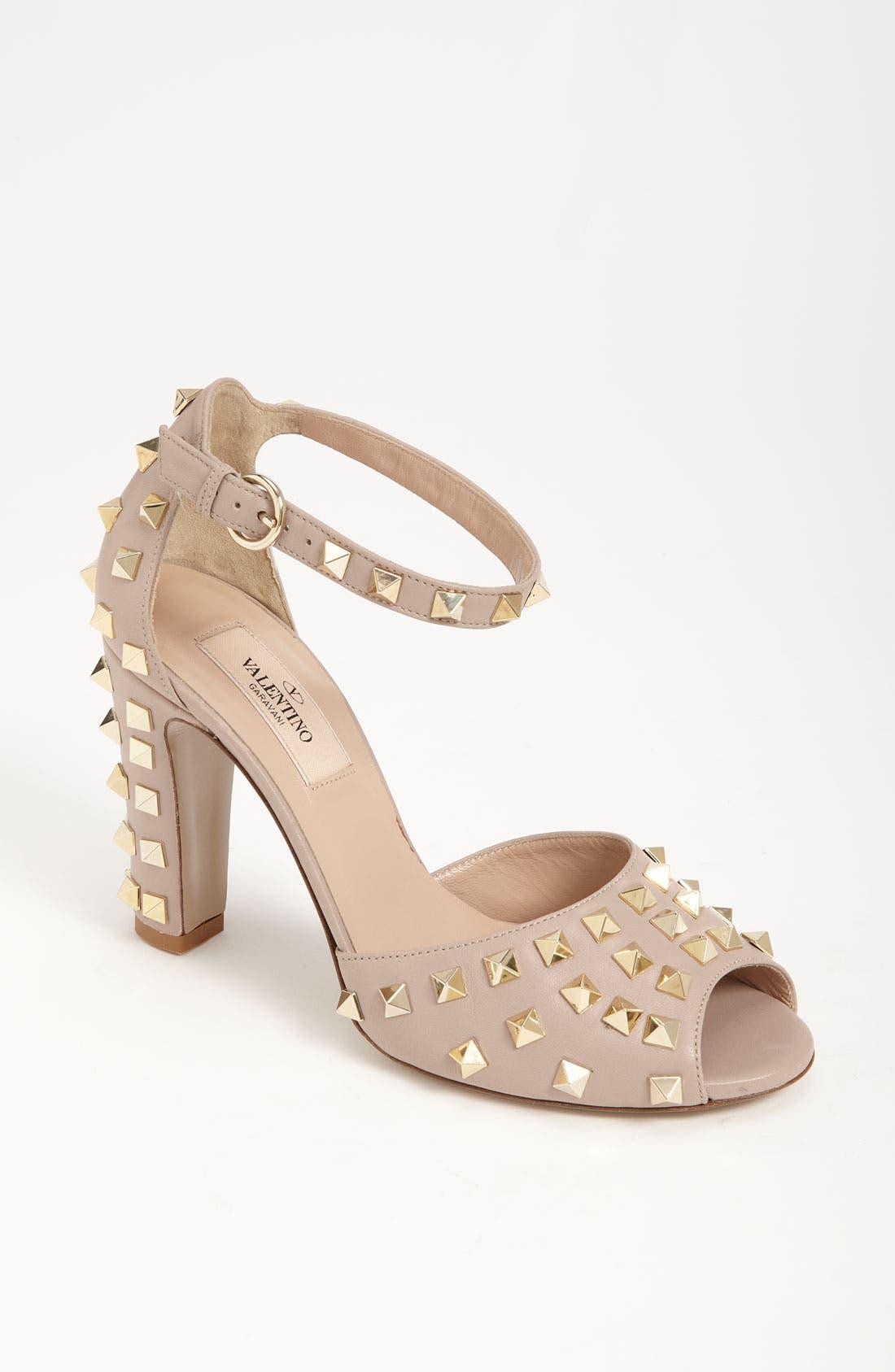Alternate Image 1 Selected - Valentino Studded Sandal