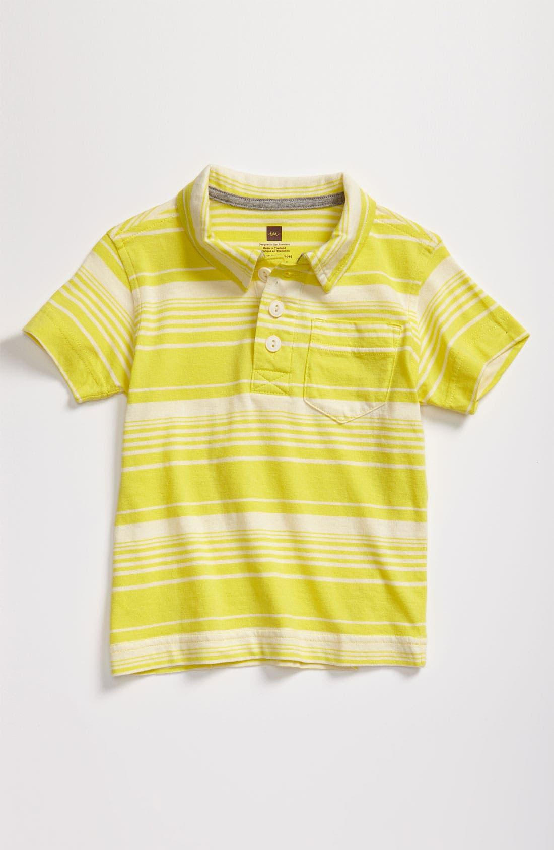 Main Image - Tea Collection 'Kangin' Stripe Polo (Infant)