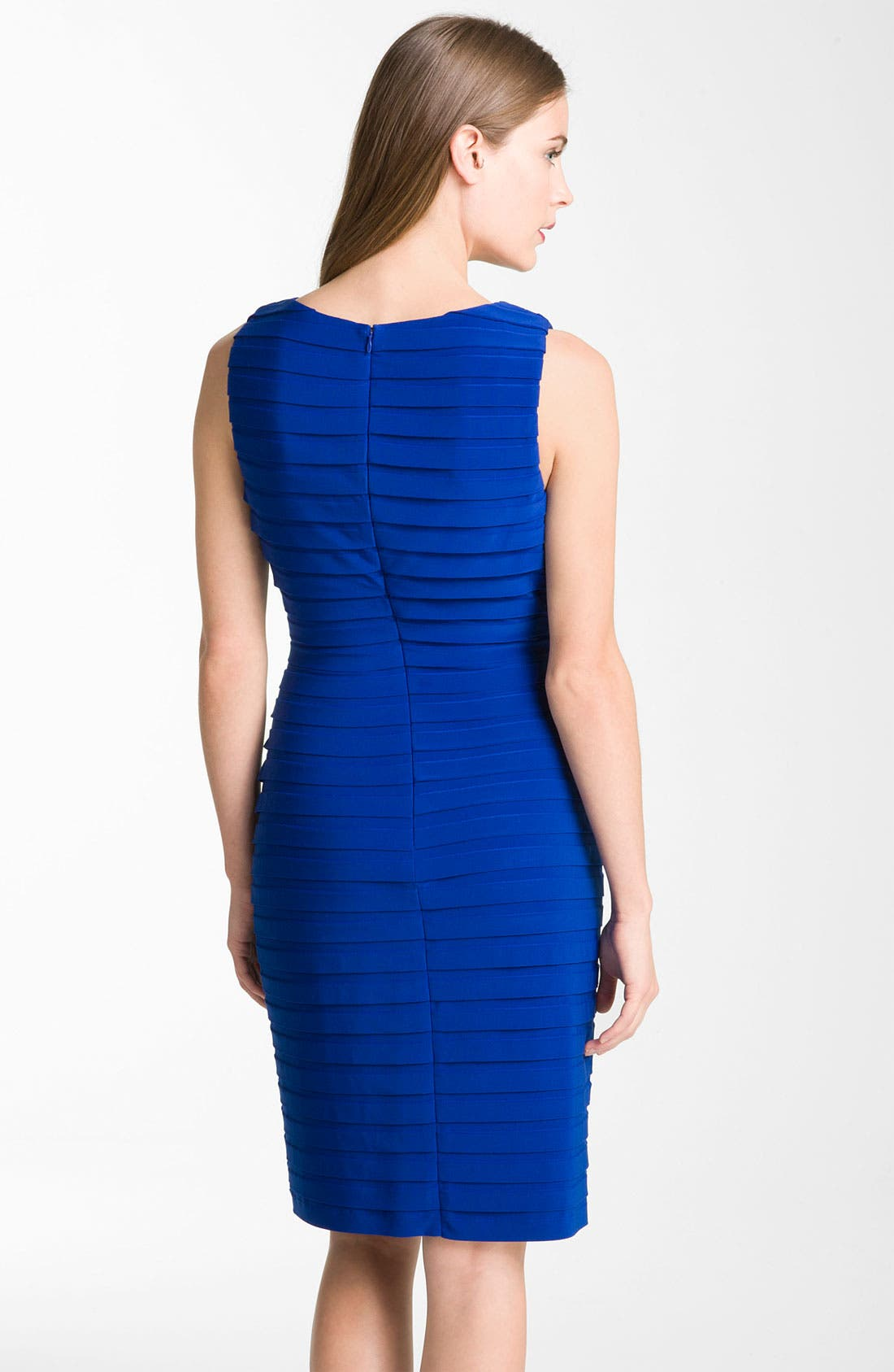 Alternate Image 2  - Adrianna Papell Banded Surplice Jersey Dress