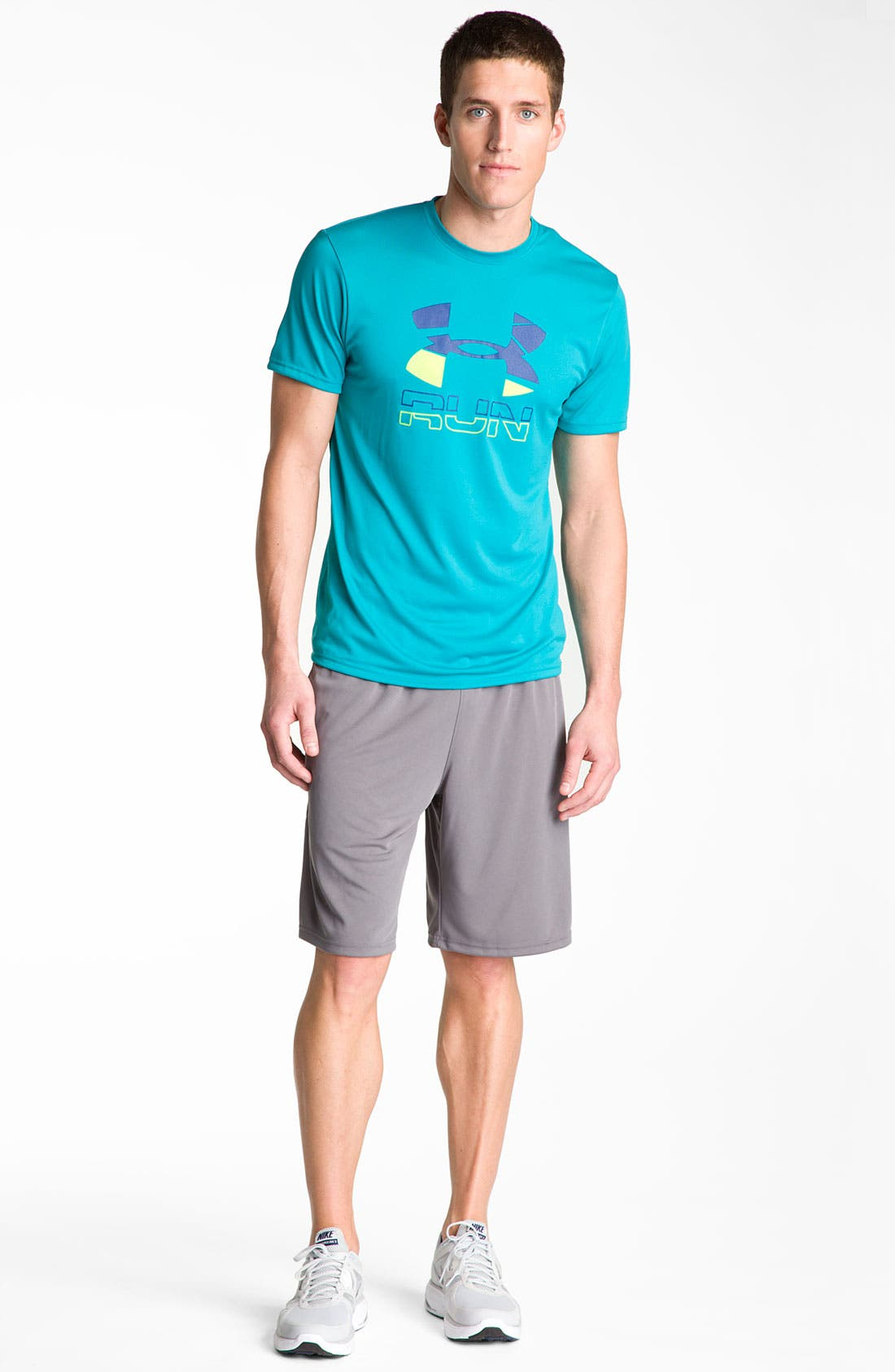 Alternate Image 3  - Under Armour 'Run Graphic' T-Shirt