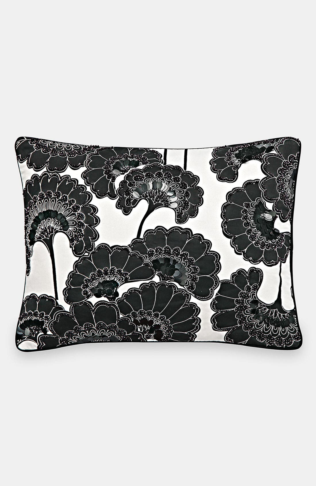 Alternate Image 1 Selected - kate spade new york 'beaded fans' pillow