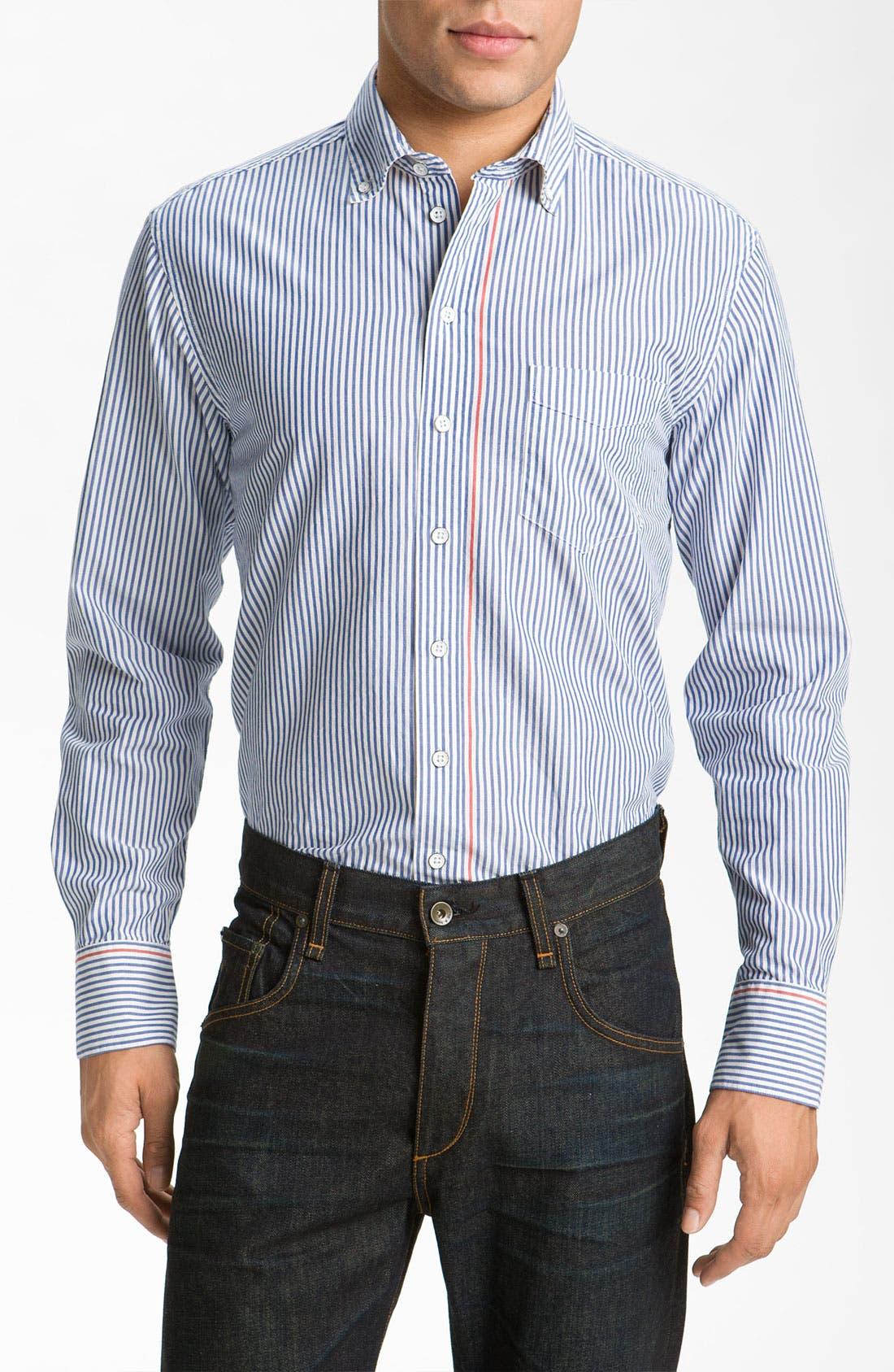 Main Image - rag & bone Oxford Shirt