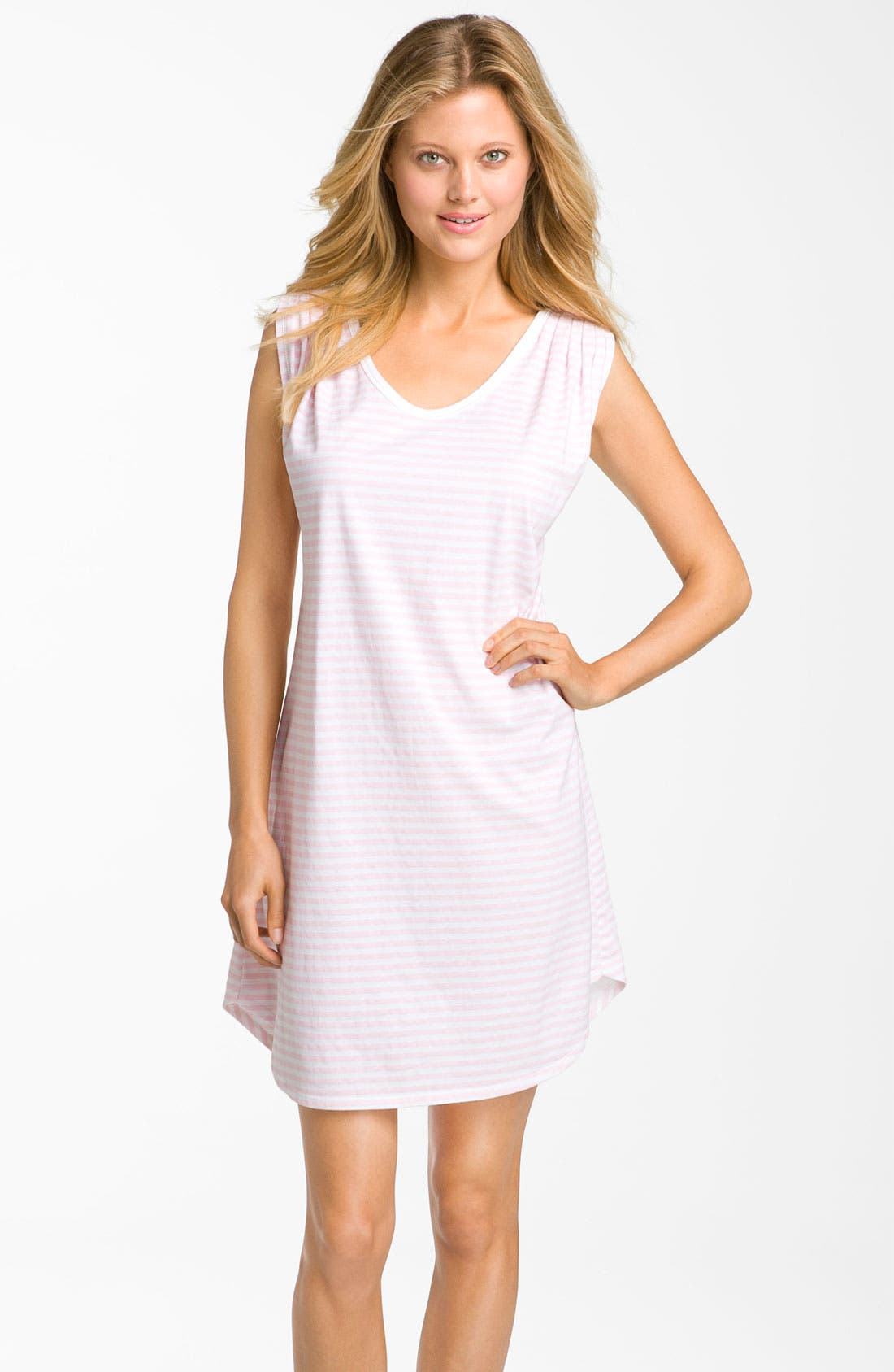 Main Image - Carole Hochman Designs 'Coastal Stripe' Sleep Shirt