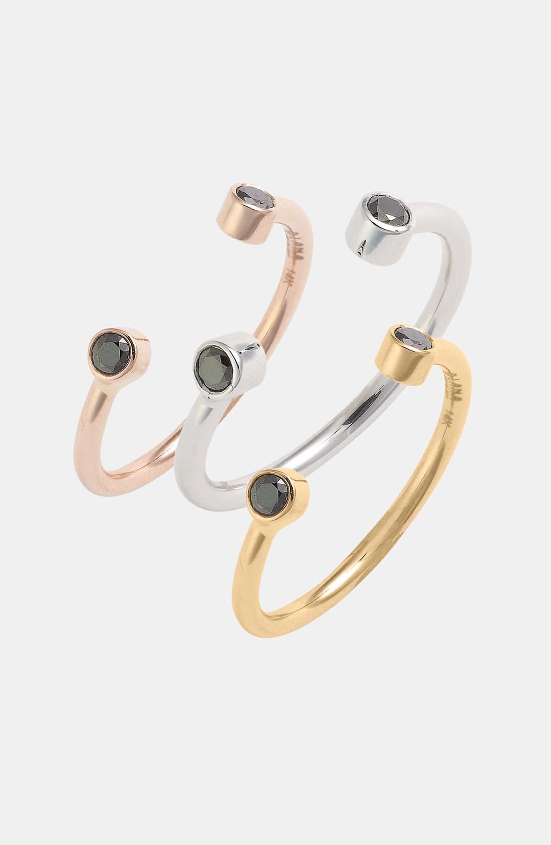 Alternate Image 1 Selected - Lana Jewelry 'Echo' Black Diamond Ring (Nordstrom Exclusive)