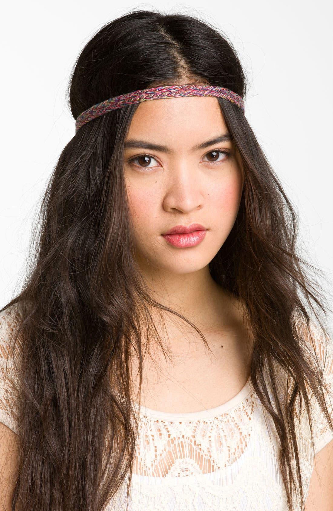 Main Image - Lulu Multicolor Braided Headband