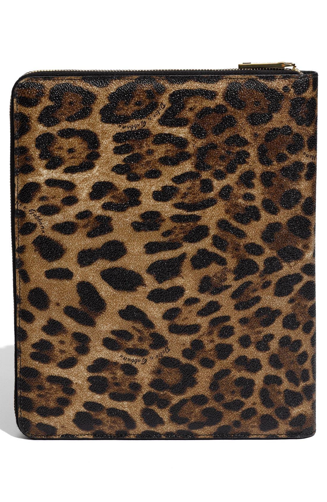 Alternate Image 4  - Dolce&Gabbana Zip Around iPad Case
