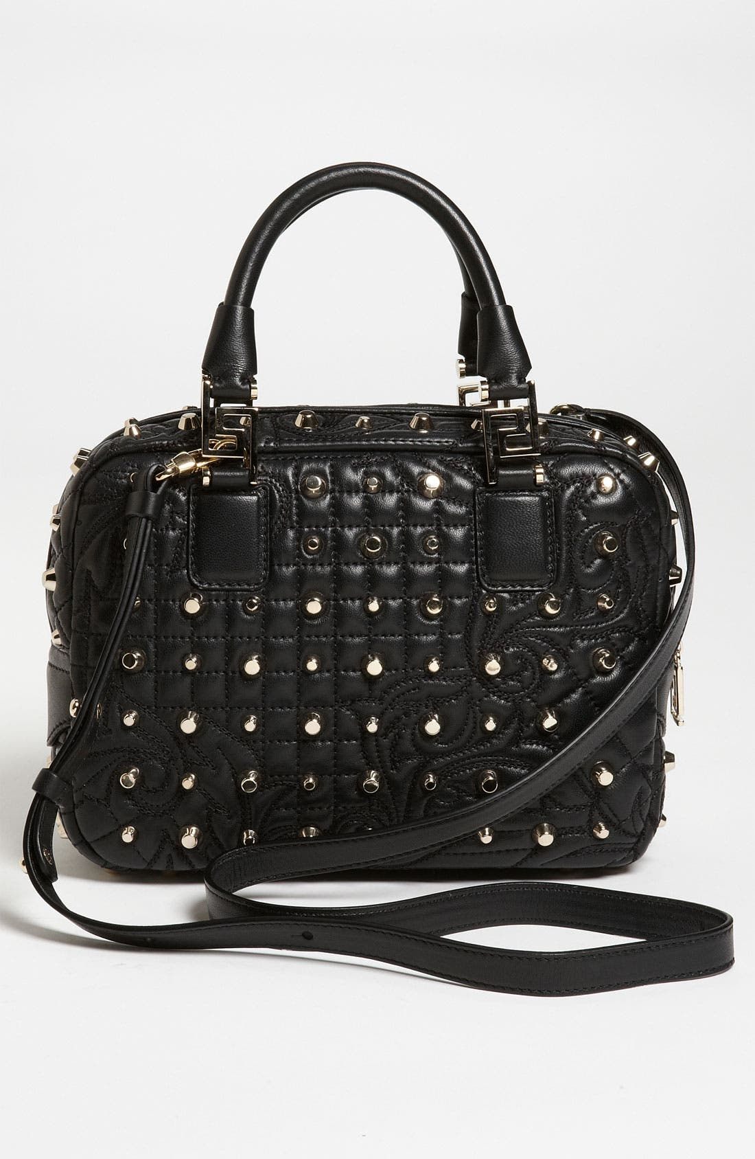 Alternate Image 4  - Versace 'Vanitas - Small' Leather Satchel