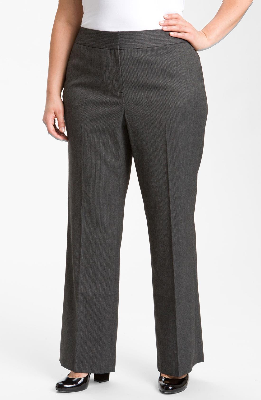 Alternate Image 1 Selected - Sejour Suit Trousers (Plus)