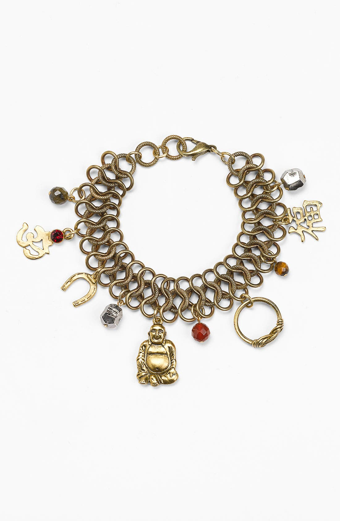 Alternate Image 1 Selected - T.R.U. Timeless Rare Unique 'Lucky' Charm Bracelet