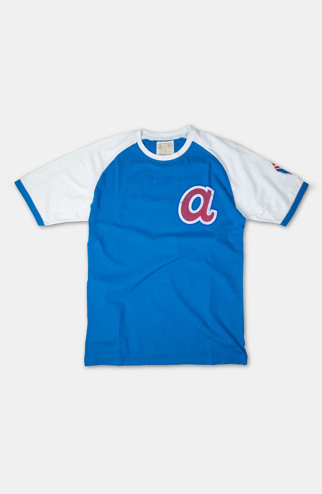 Alternate Image 1 Selected - Red Jacket 'Atlanta Braves' Ringer T-Shirt (Men)