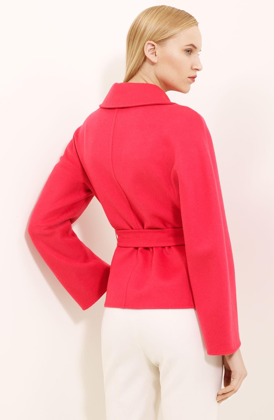 Alternate Image 2  - Max Mara 'Sandra' Belted Jacket
