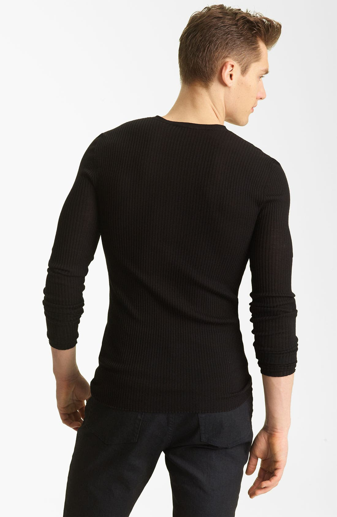 Alternate Image 2  - John Varvatos Collection Wool Knit Henley