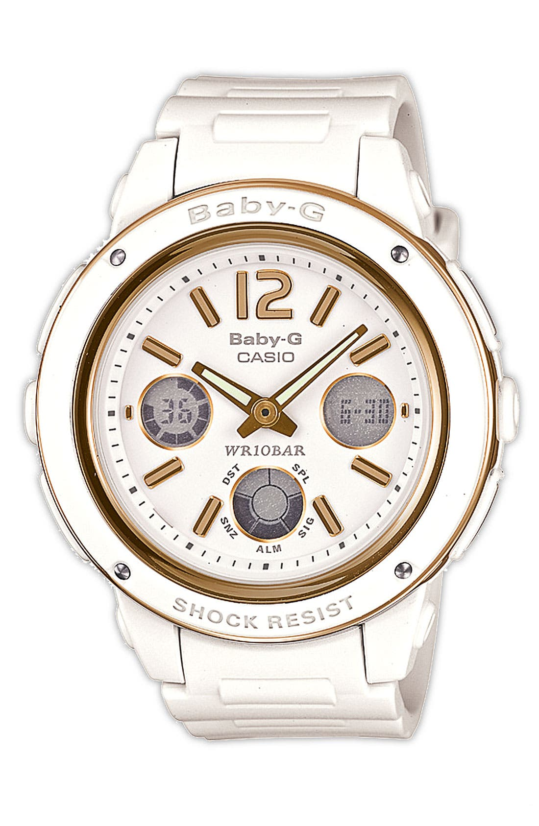 Alternate Image 1 Selected - Baby-G Dual Movement Watch, 43mm