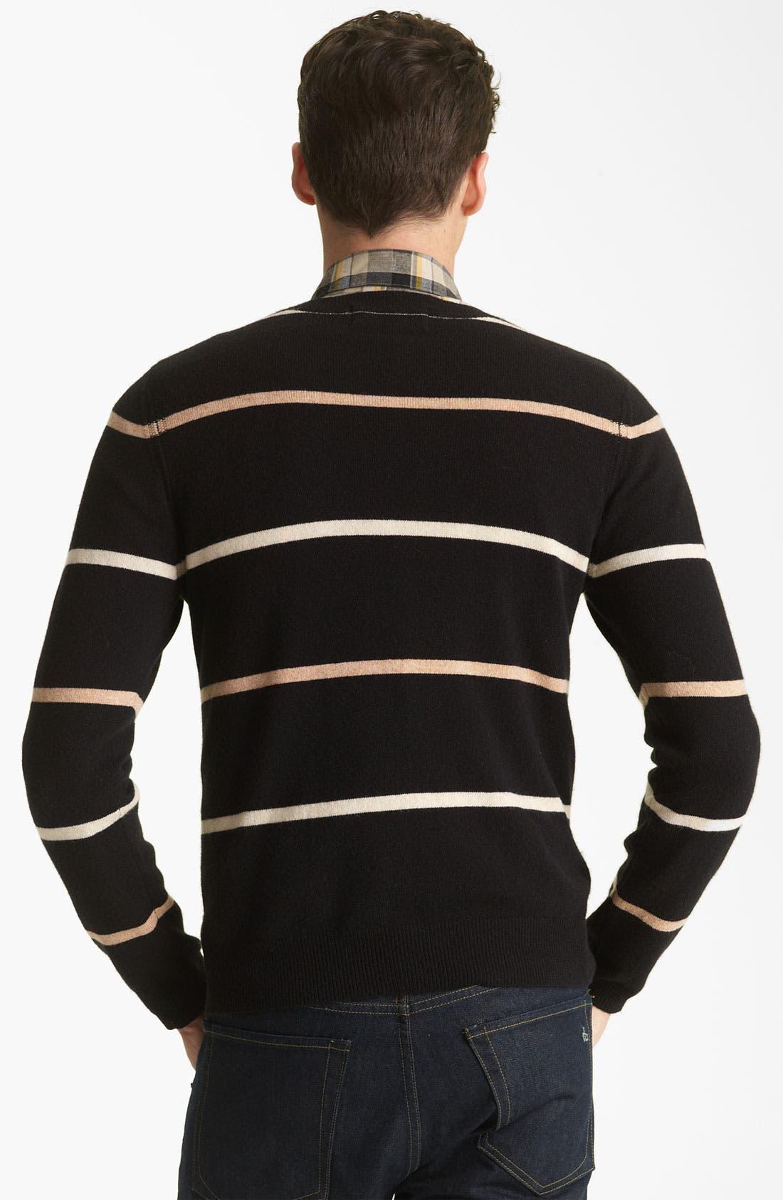 Alternate Image 2  - Shipley & Halmos 'Laurel' Cashmere Sweater