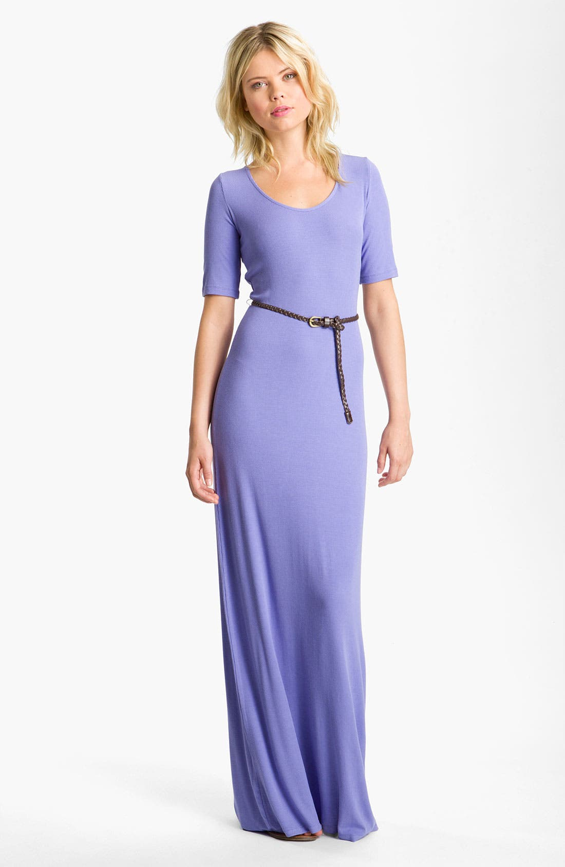 Main Image - Felicity & Coco Belted Jersey Maxi Dress (Nordstrom Exclusive)