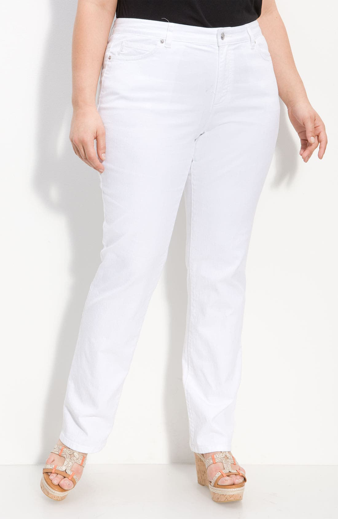 Alternate Image 1 Selected - MICHAEL Michael Kors Skinny Jeans (Plus)
