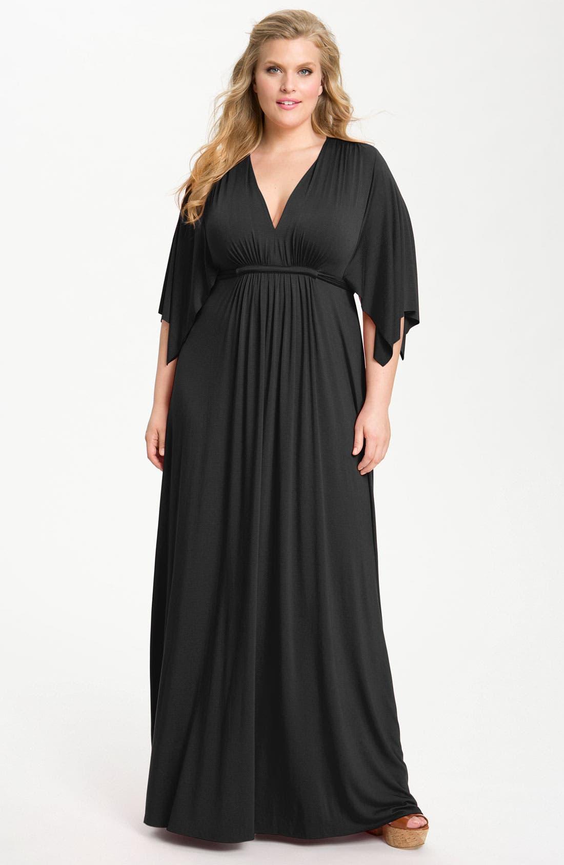 Main Image - Rachel Pally White Label Long Caftan Dress (Plus)