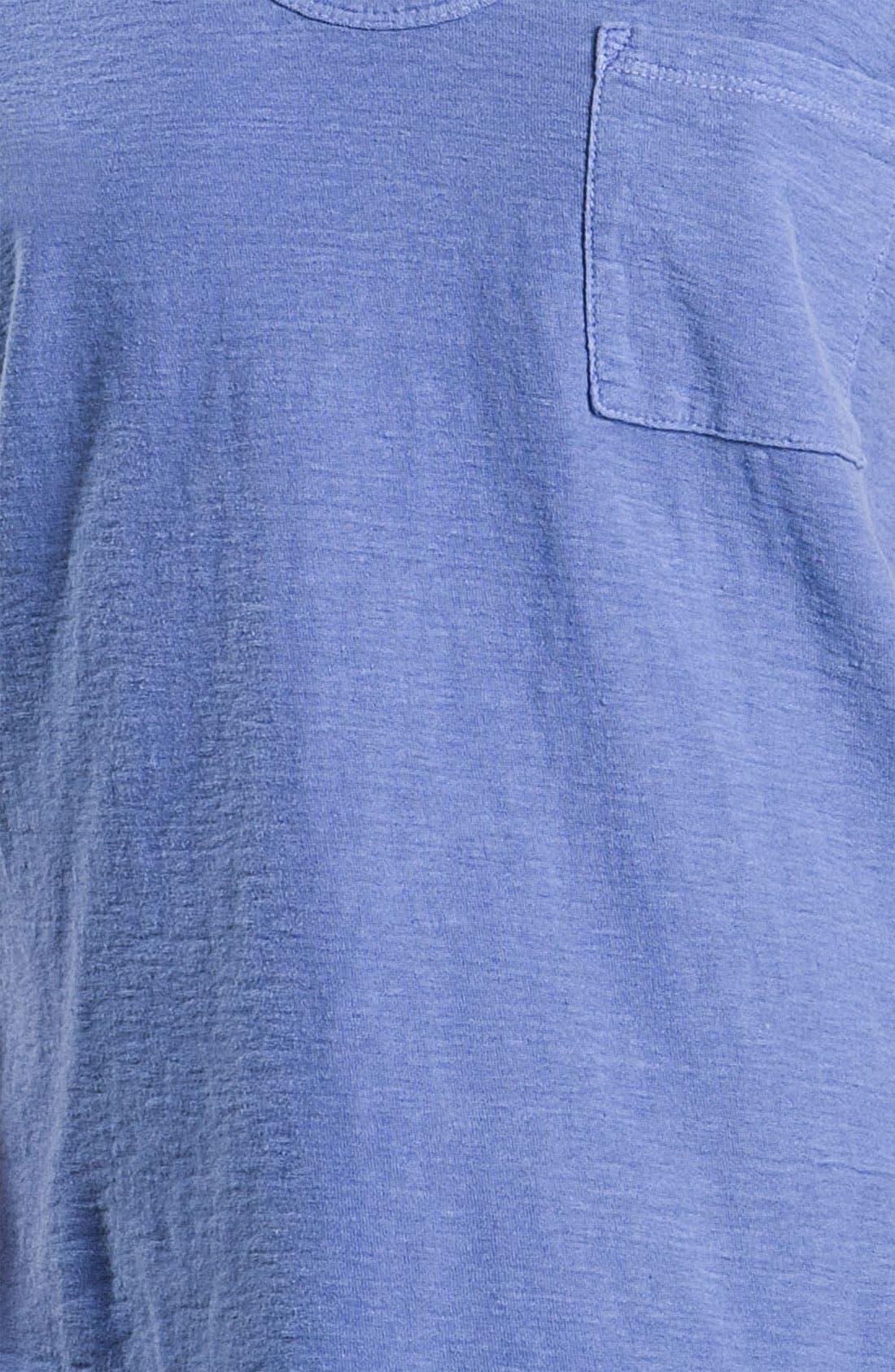 Alternate Image 3  - James Perse 'Vintage' Slub Knit Pocket Tee