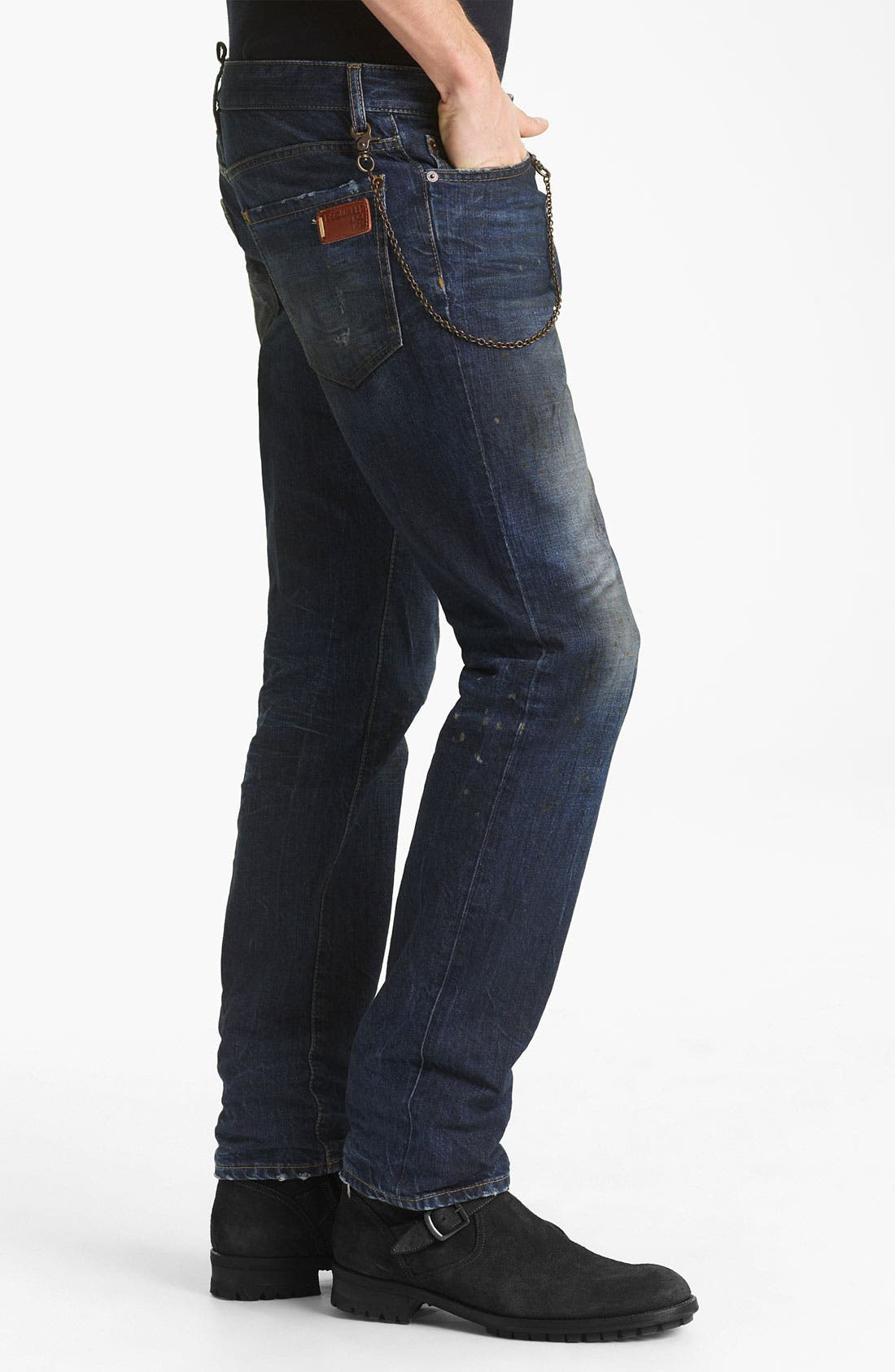 Alternate Image 3  - Dsquared2 Slim Fit Jeans (Grease Monkey)