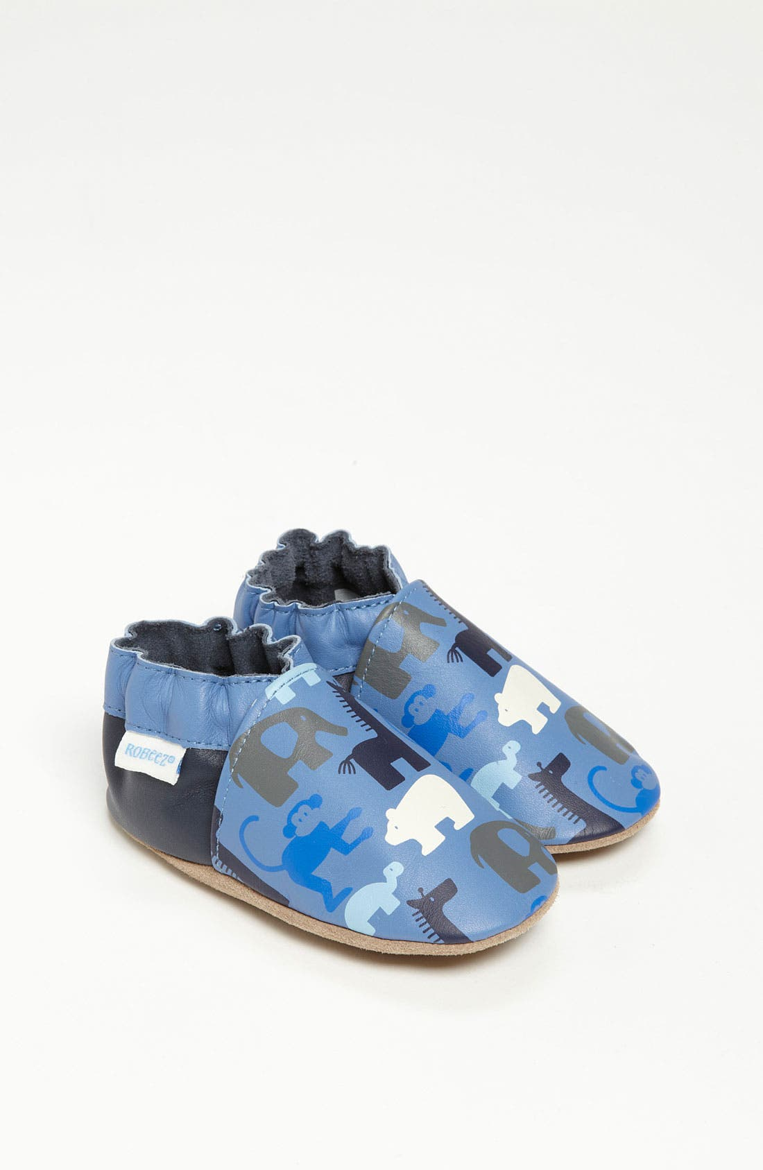 Alternate Image 1 Selected - Robeez® 'Welcome to the Jungle' Slip-On (Baby & Walker)