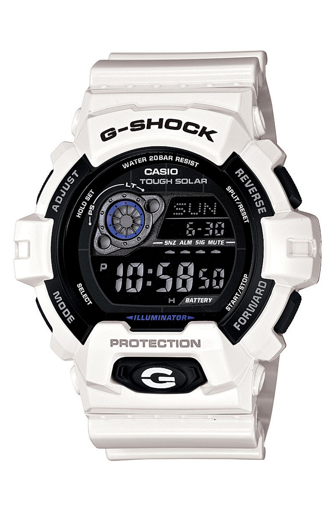 Main Image - G-Shock 'X-Large - Solar' Digital Watch, 55mm