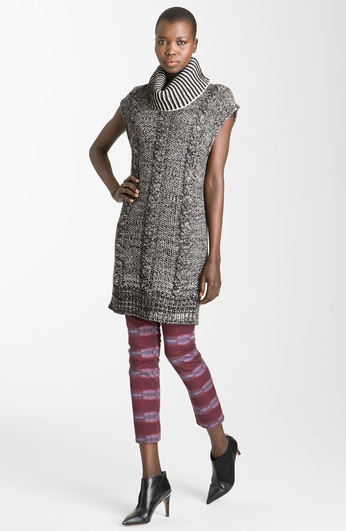 Alternate Image 1 Selected - See by Chloé Thick Rib Turtleneck Sweater