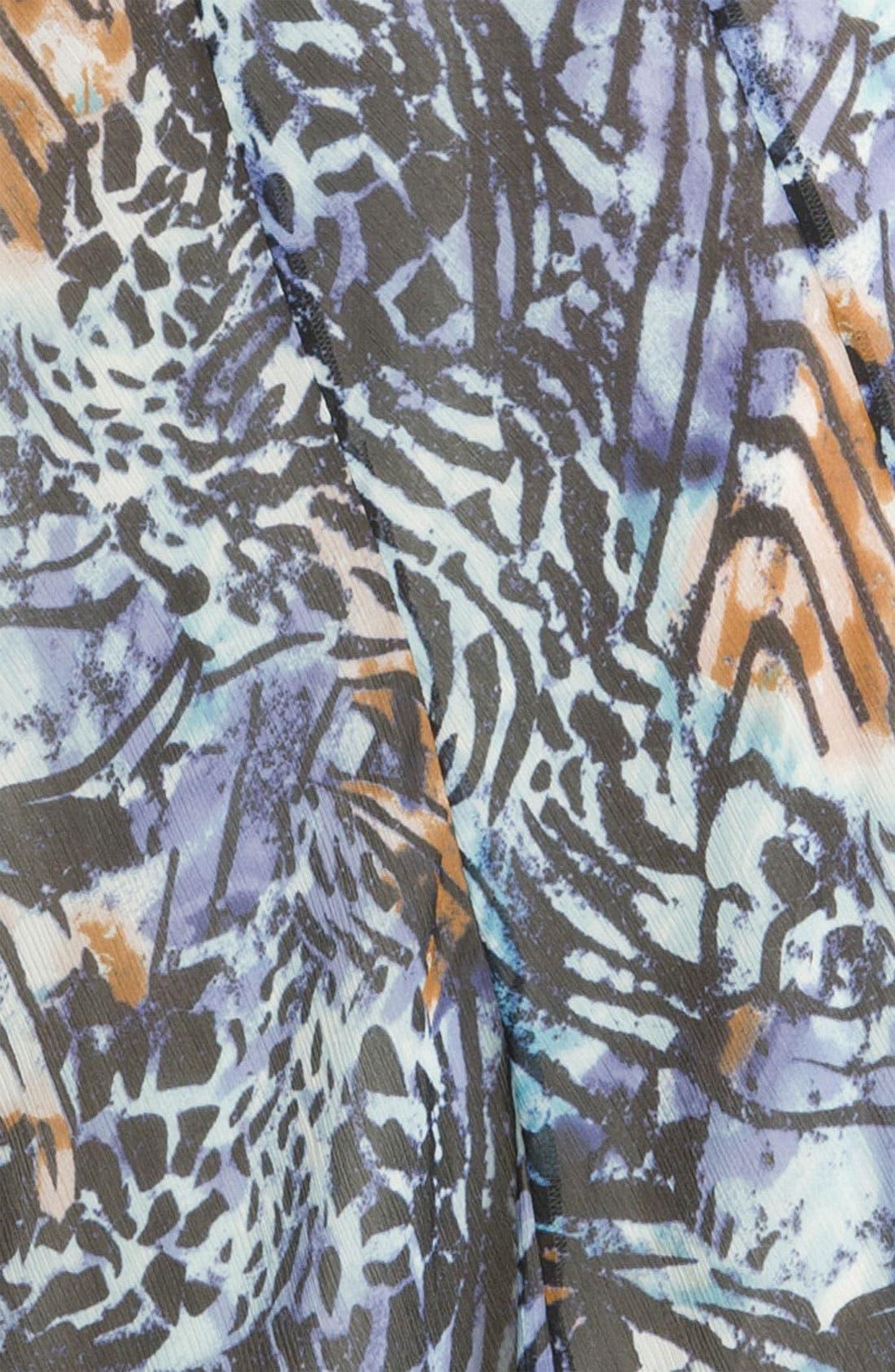 Alternate Image 3  - Nic + Zoe 'Pattern Play' Print Maxi Skirt