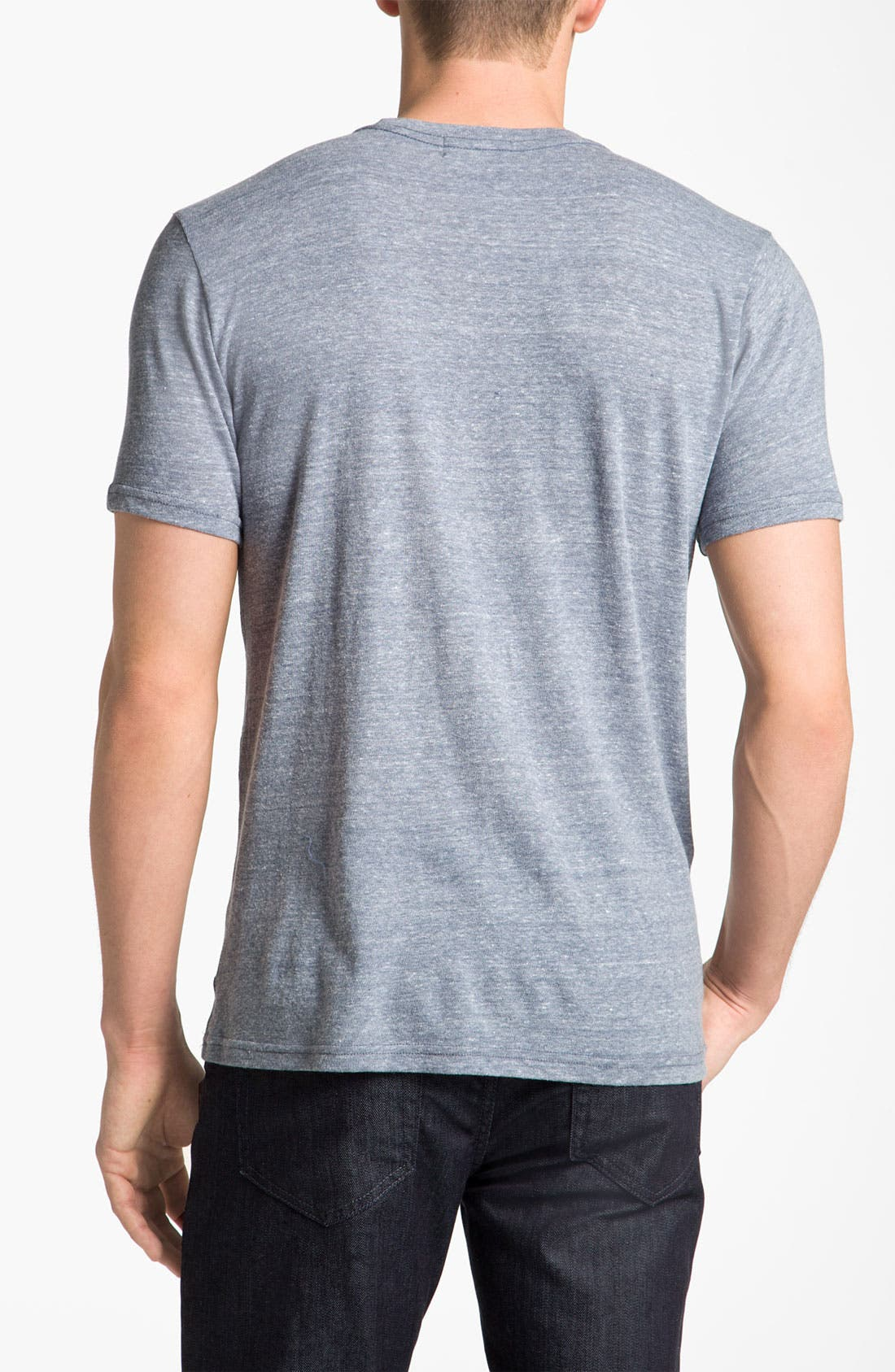 Alternate Image 2  - Junk Food NFL Shield Graphic Crewneck T-Shirt
