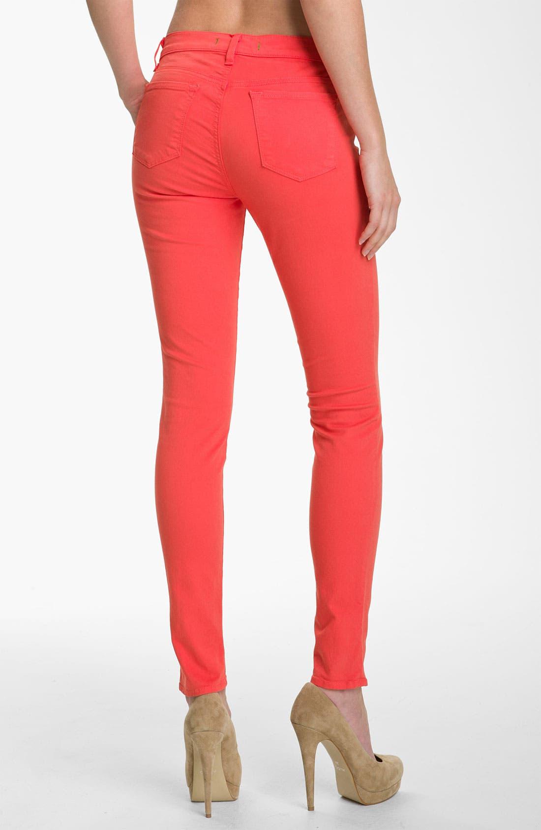 Alternate Image 2  - J Brand Skinny Stretch Twill Pants