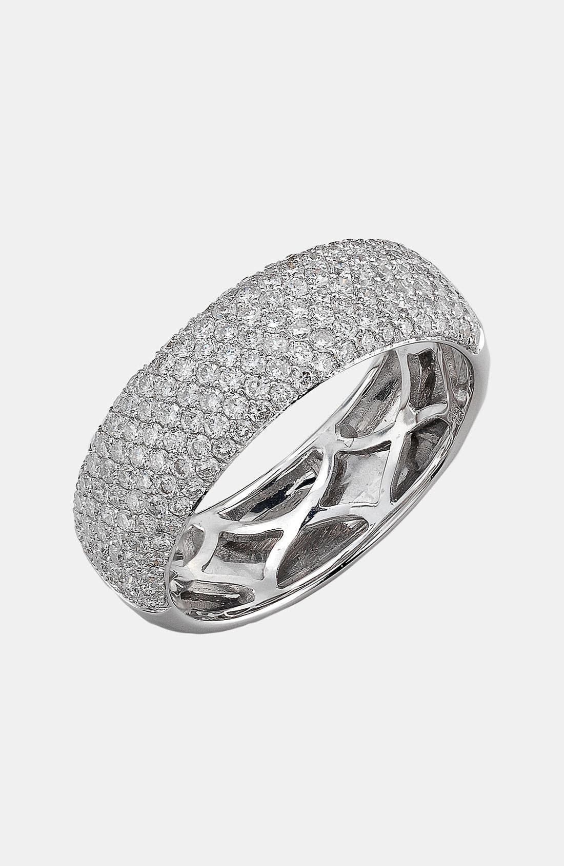 Alternate Image 1 Selected - Bony Levy 7-Row Pavé Diamond Ring (Nordstrom Exclusive)