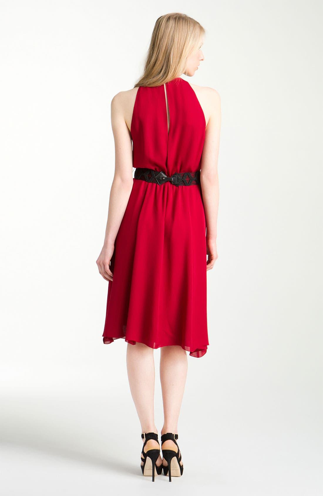 Alternate Image 2  - L'AGENCE Shirred Dress