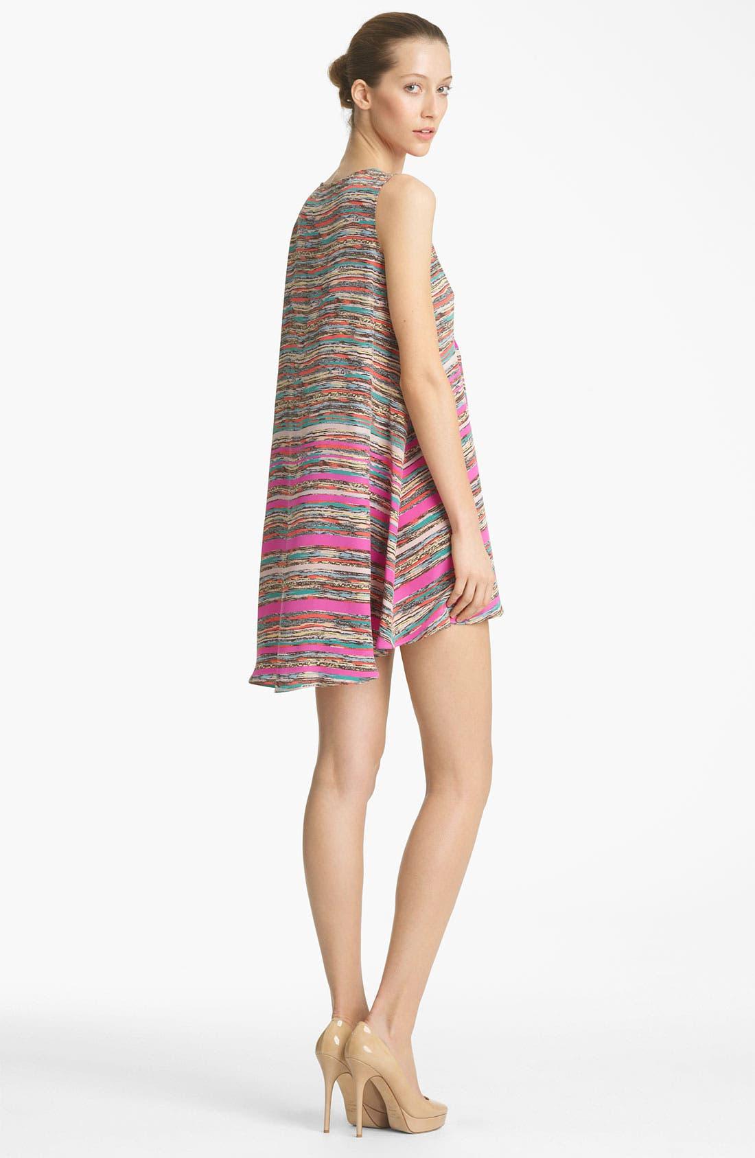 Alternate Image 2  - Thakoon Trapeze Print Silk Dress