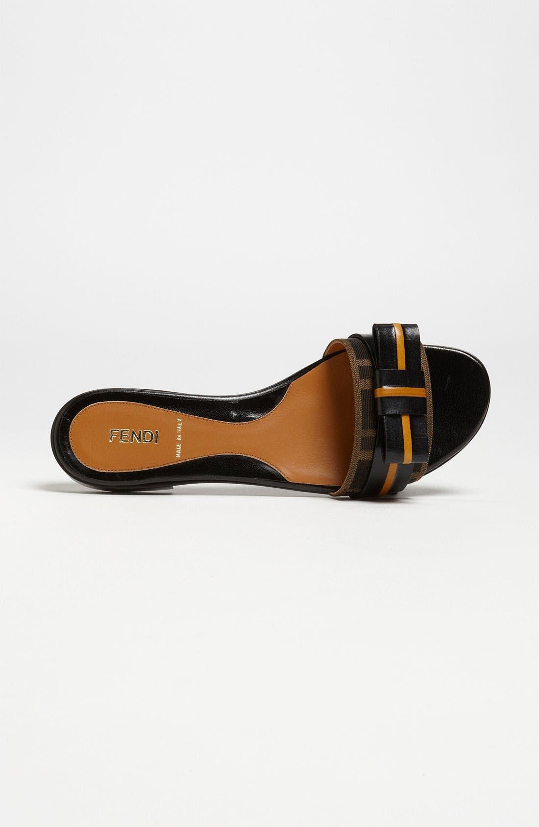 Alternate Image 3  - Fendi 'Pride & Prejudice' Bow Slide Sandal