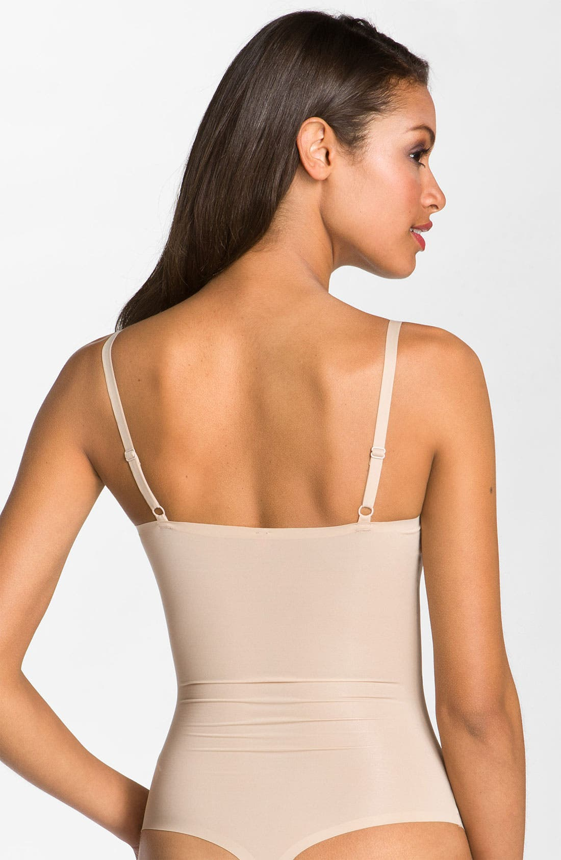 Alternate Image 2  - SPANX® 'Thinstincts' Thong Bodysuit Shaper