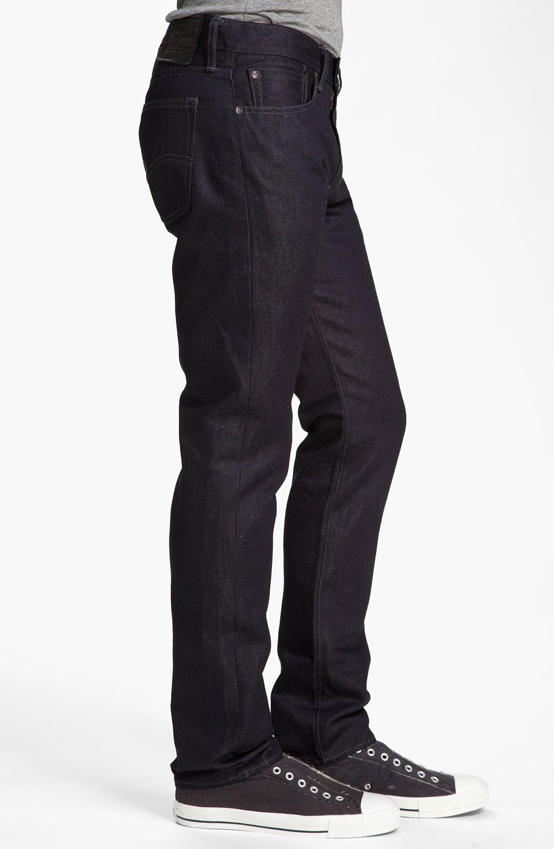 Alternate Image 3  - Levi's® 'Matchstick' Slim Straight Leg Jeans (Mayfield)