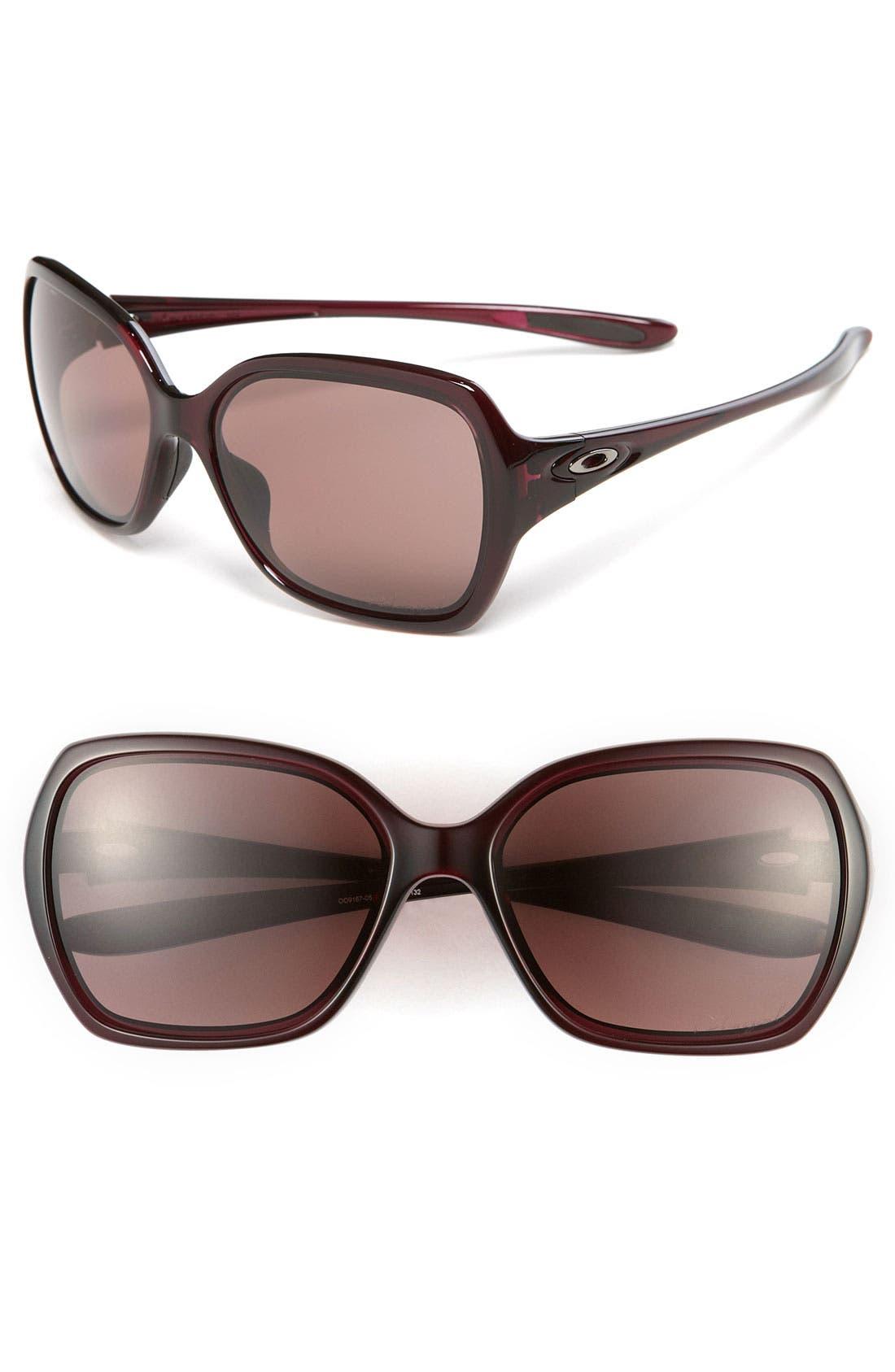 Main Image - Oakley 'Overtime™' 59mm Polarized Sunglasses