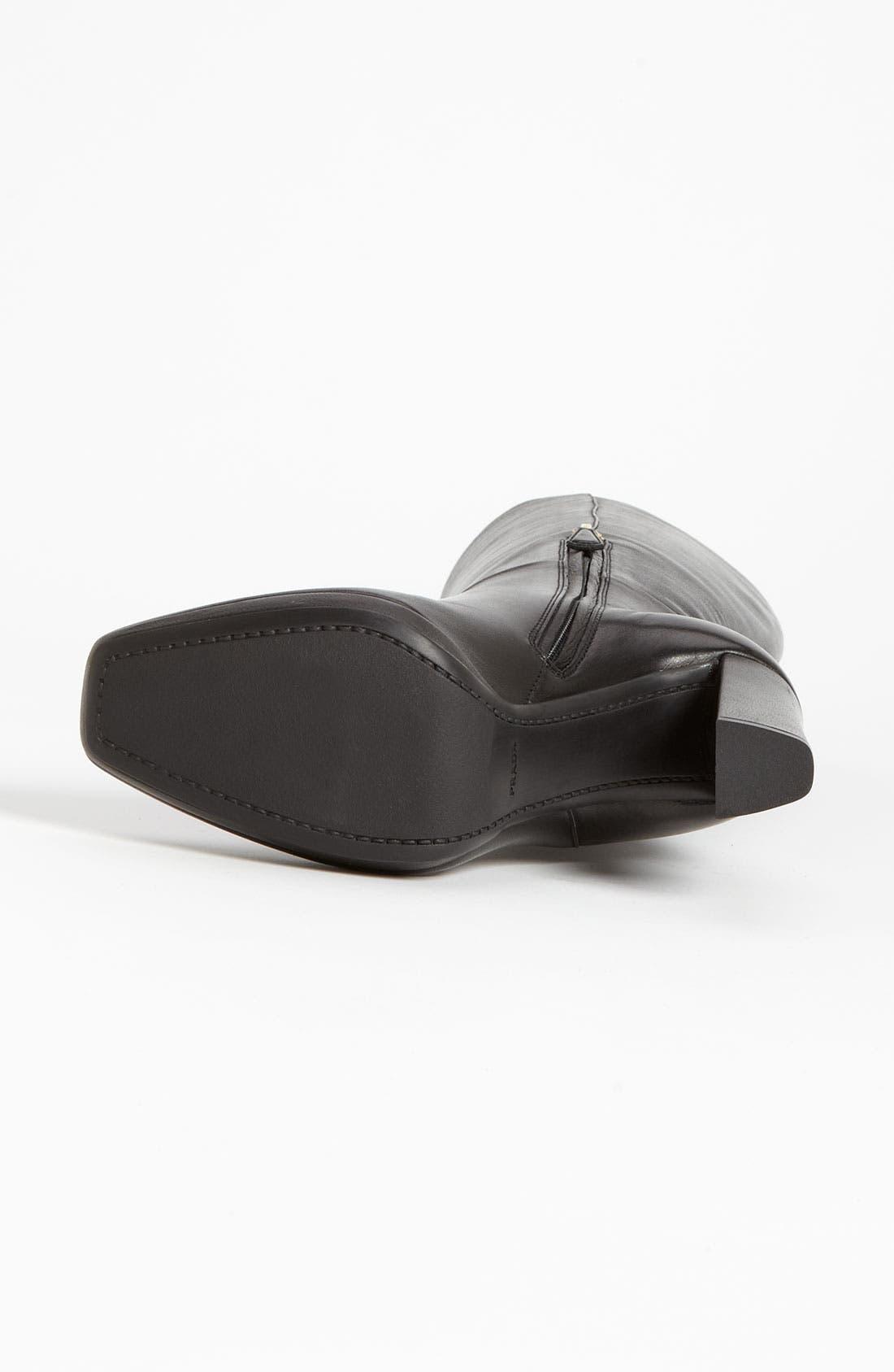 Alternate Image 4  - Prada Tall Buckle Boot