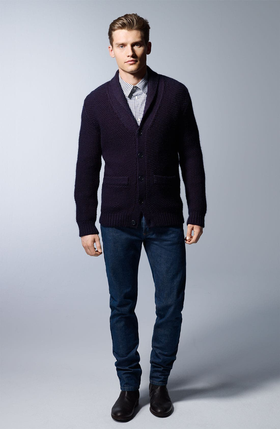 Alternate Image 6  - A.P.C. Shawl Collar Cardigan