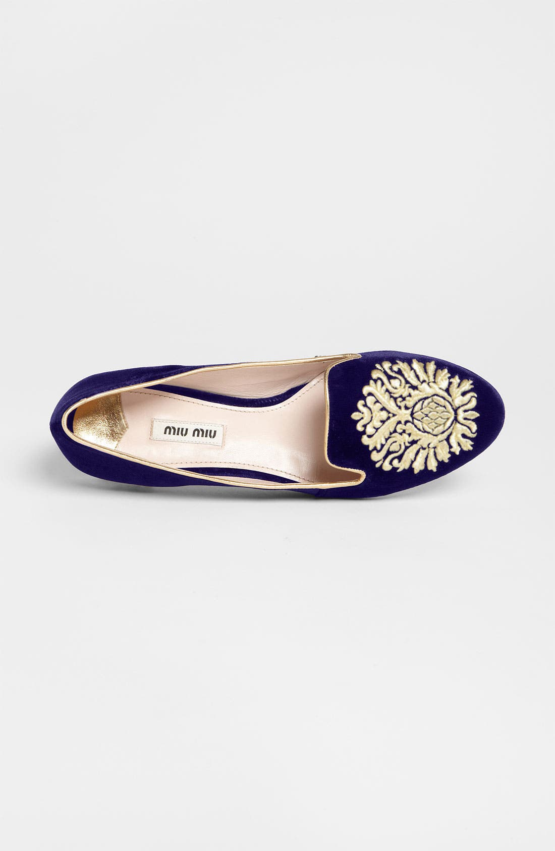 Alternate Image 3  - Miu Miu 'Crest' Moccasin