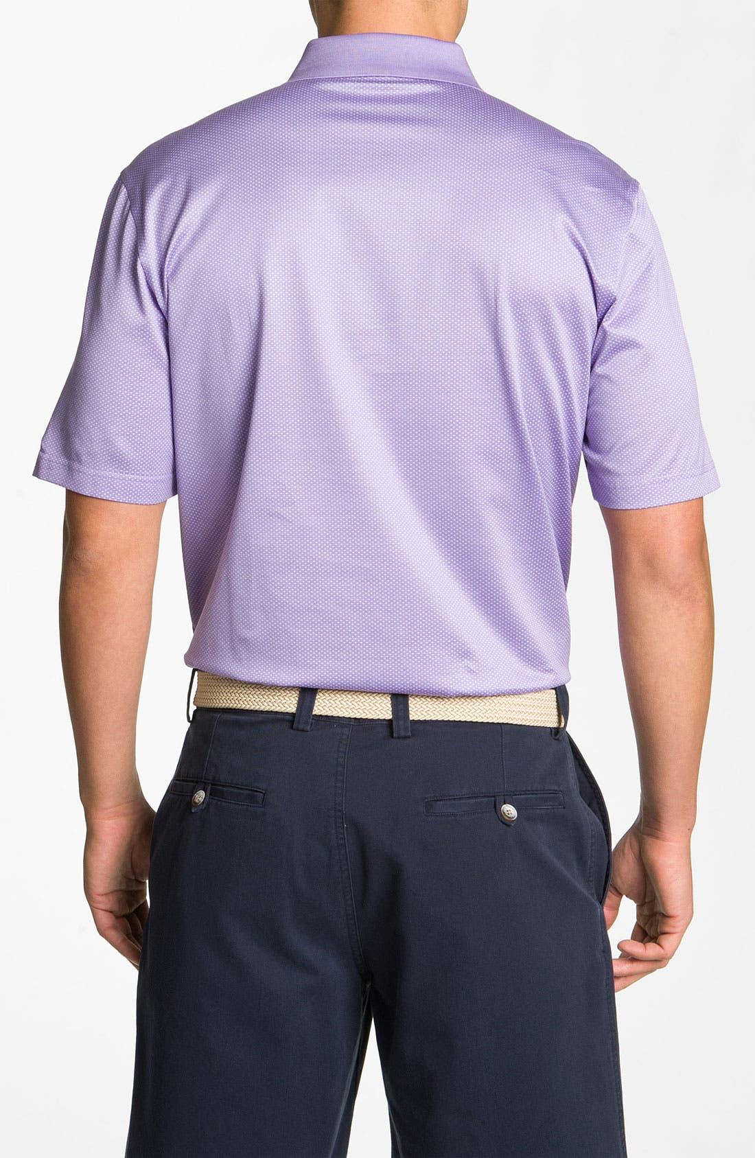 Alternate Image 2  - Bobby Jones 'Dash' Jacquard Golf Polo