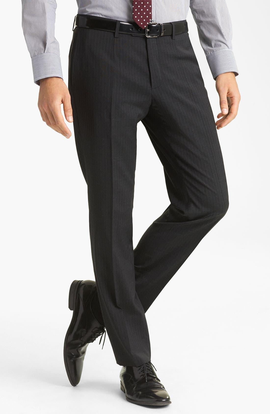 Alternate Image 4  - Dolce&Gabbana Pinstripe Suit