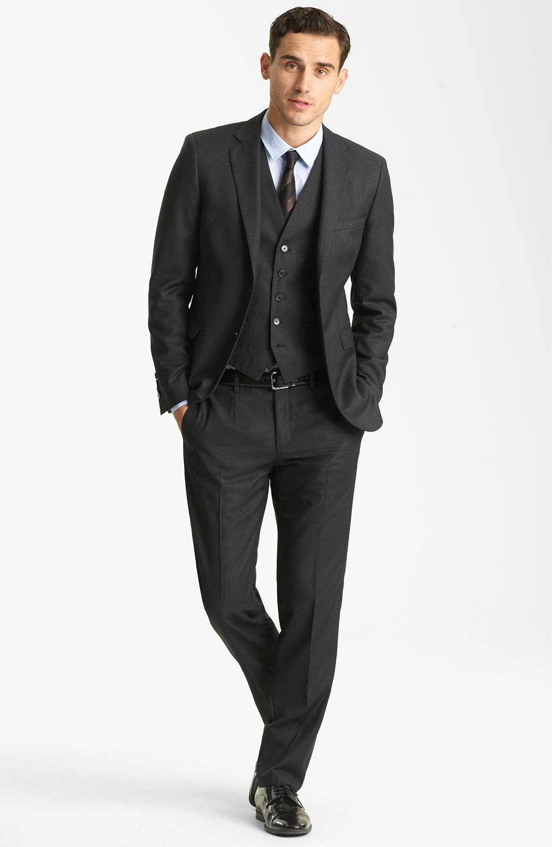 Alternate Image 2  - Dolce&Gabbana Three Piece Suit