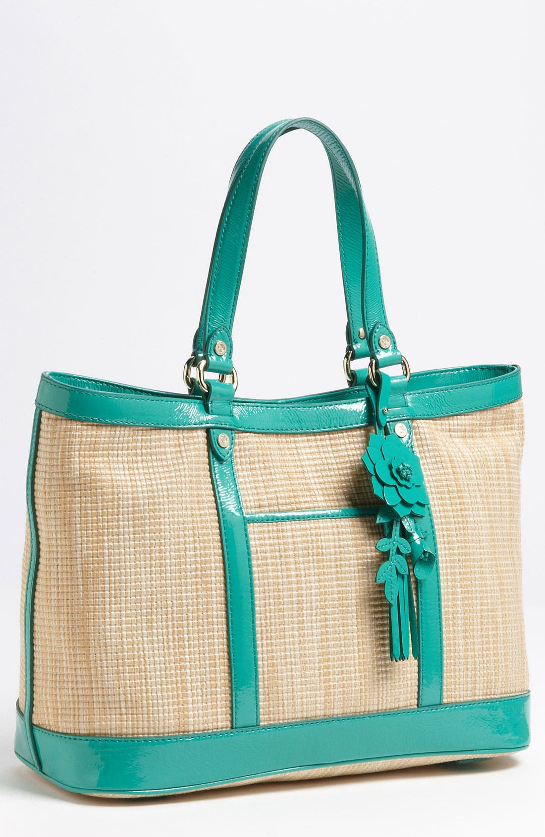 Main Image - Cole Haan 'Jitney Straw - Serena Small' Tote