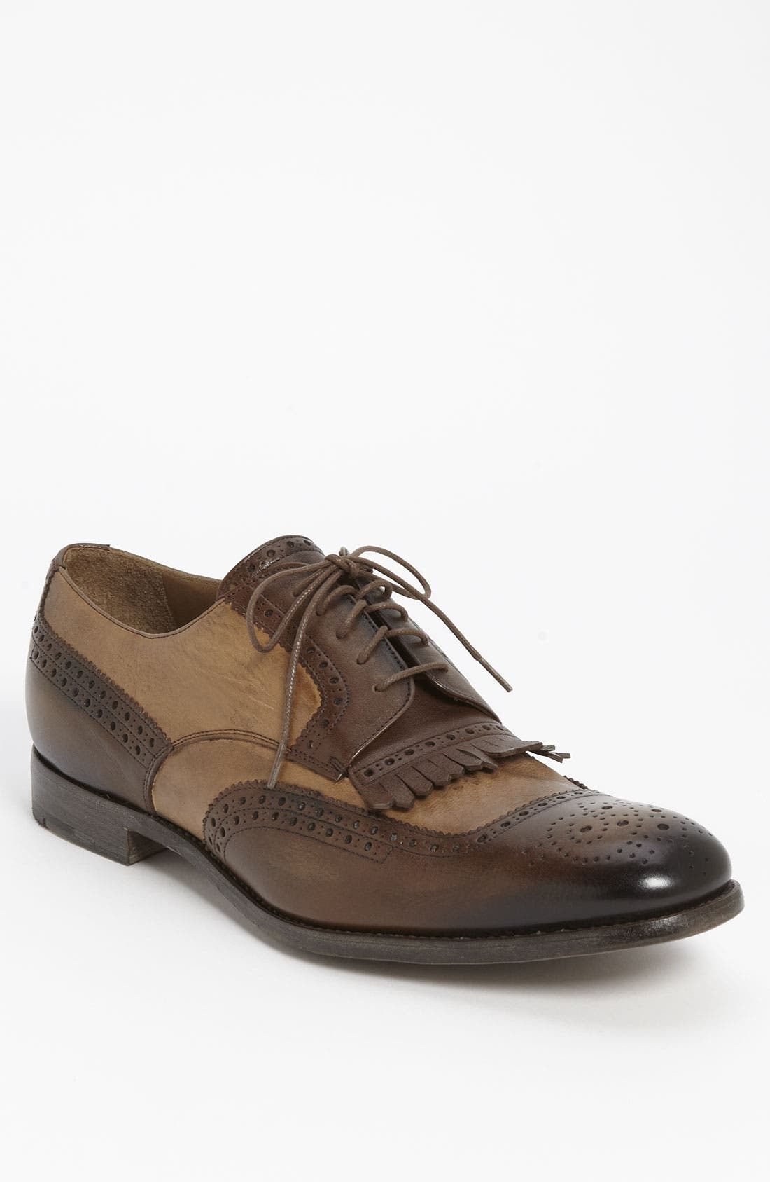 Alternate Image 1 Selected - Prada Kiltie Spectator Shoe