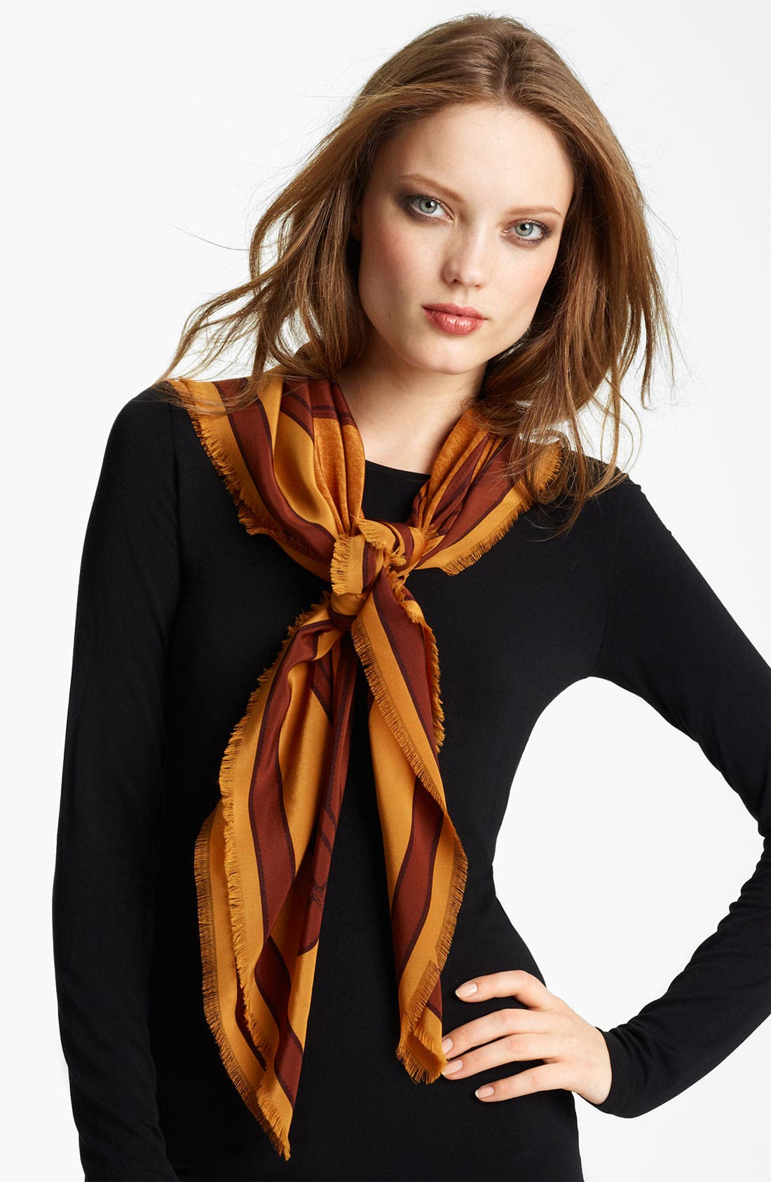 Alternate Image 1 Selected - Burberry Silk Scarf